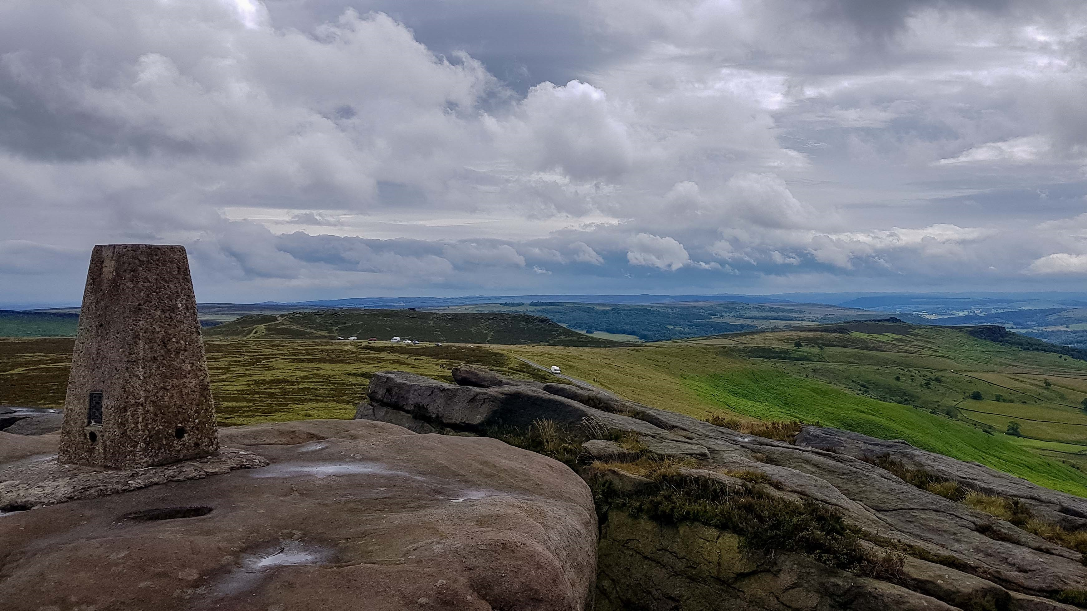 Stanage Edge Trig Pillar