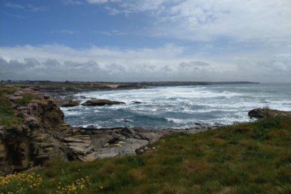 Rugged coastline at Trevose Head