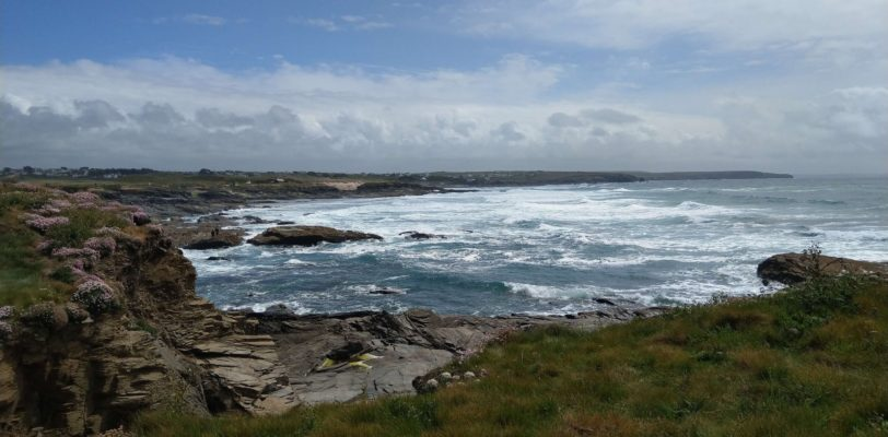 Rugged coastline at Trevose Head