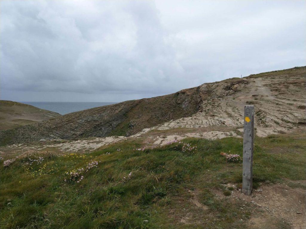 South Coast Path at Trevose Head
