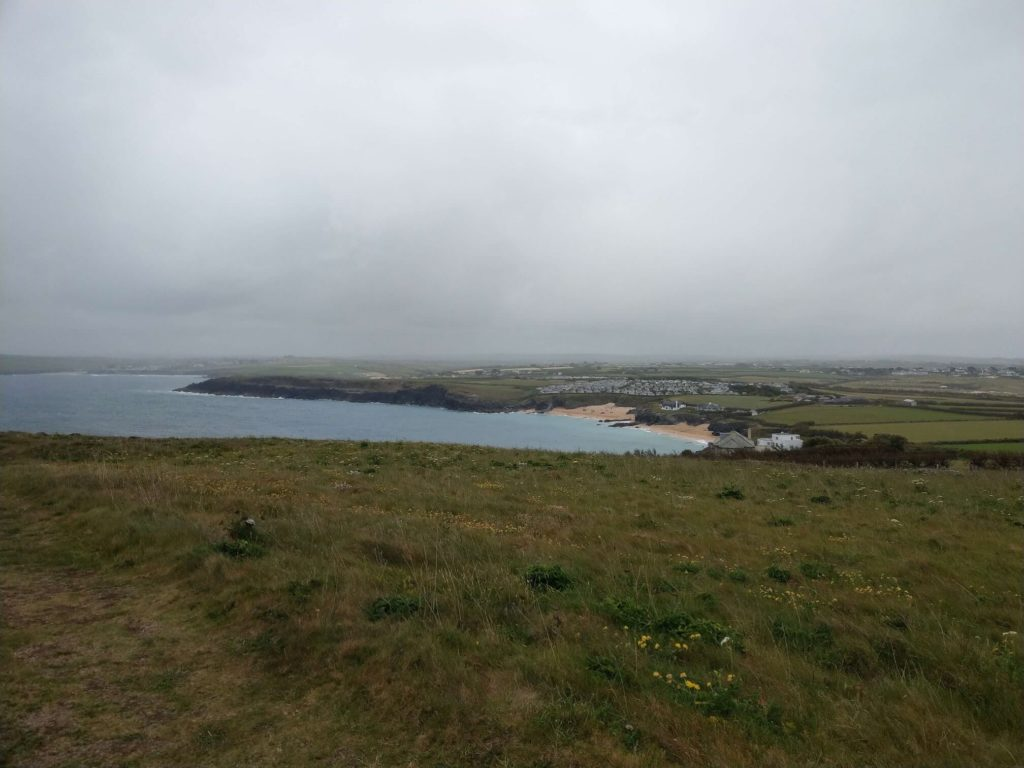 View out to sea from Trevose Head
