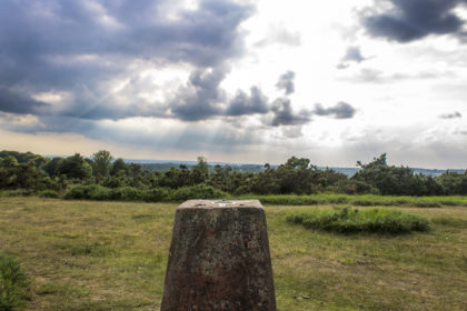 Camp Hill Trig Pillar